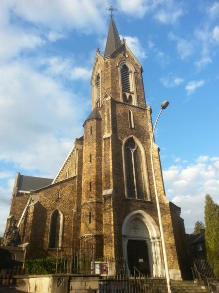 Eglise Ste-Walburge, vue extérieure