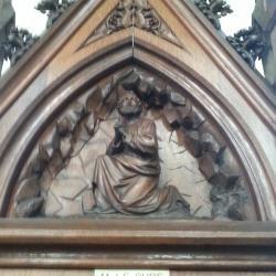 Eglise Ste-Walburge, détail d'un confessionnal