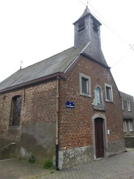 Chapelle de Xhovémont - façade principale