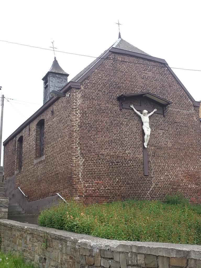 Chapelle de Xhovémont - façade arrière