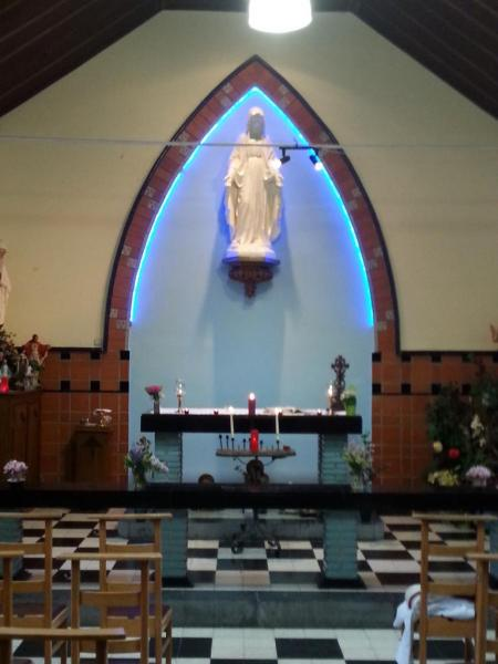Chapelle de Xhovémont - choeur