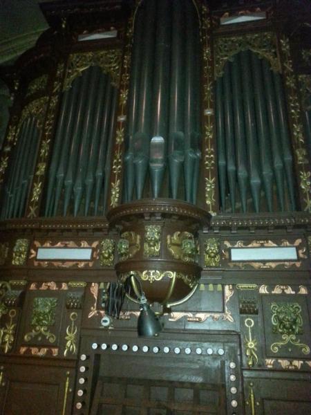 Collégiale Ste-Croix - orgues