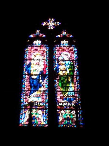 Collégiale Ste-Croix - vitraux