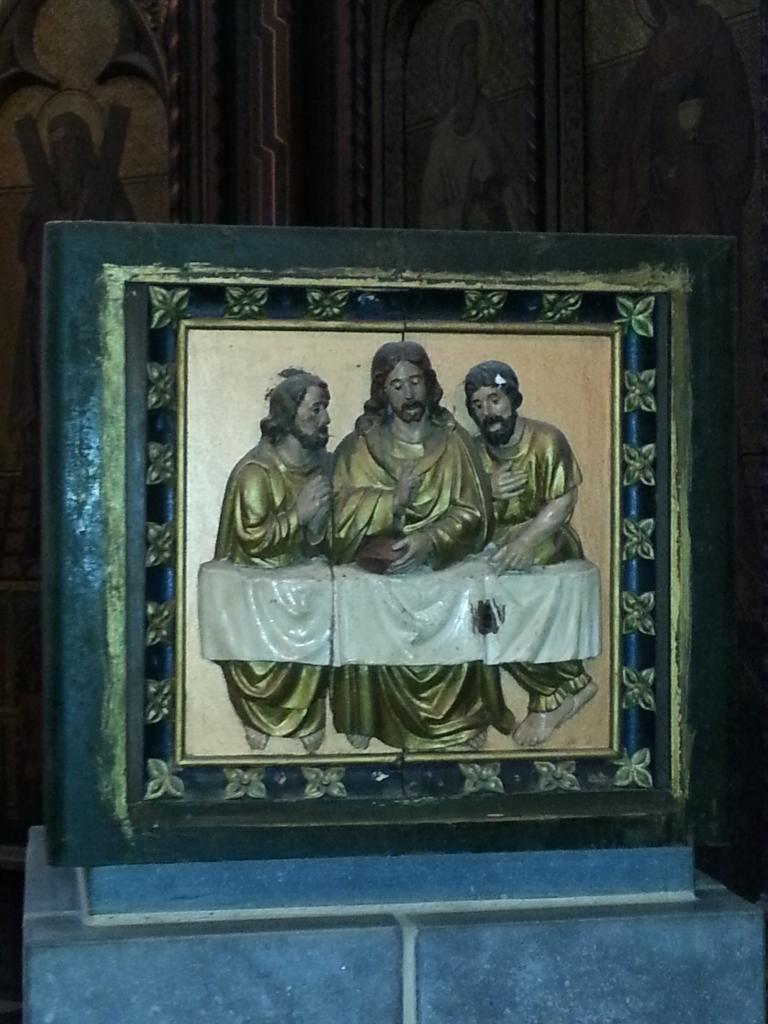 Collégiale Ste-Croix - tabernacle