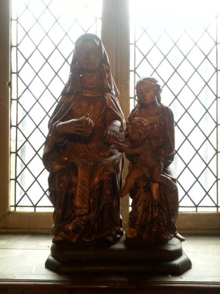 Marie et sa mère Anne