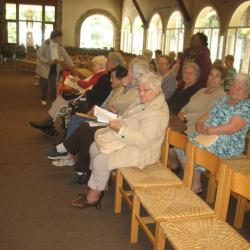 Lors de l'eucharistie