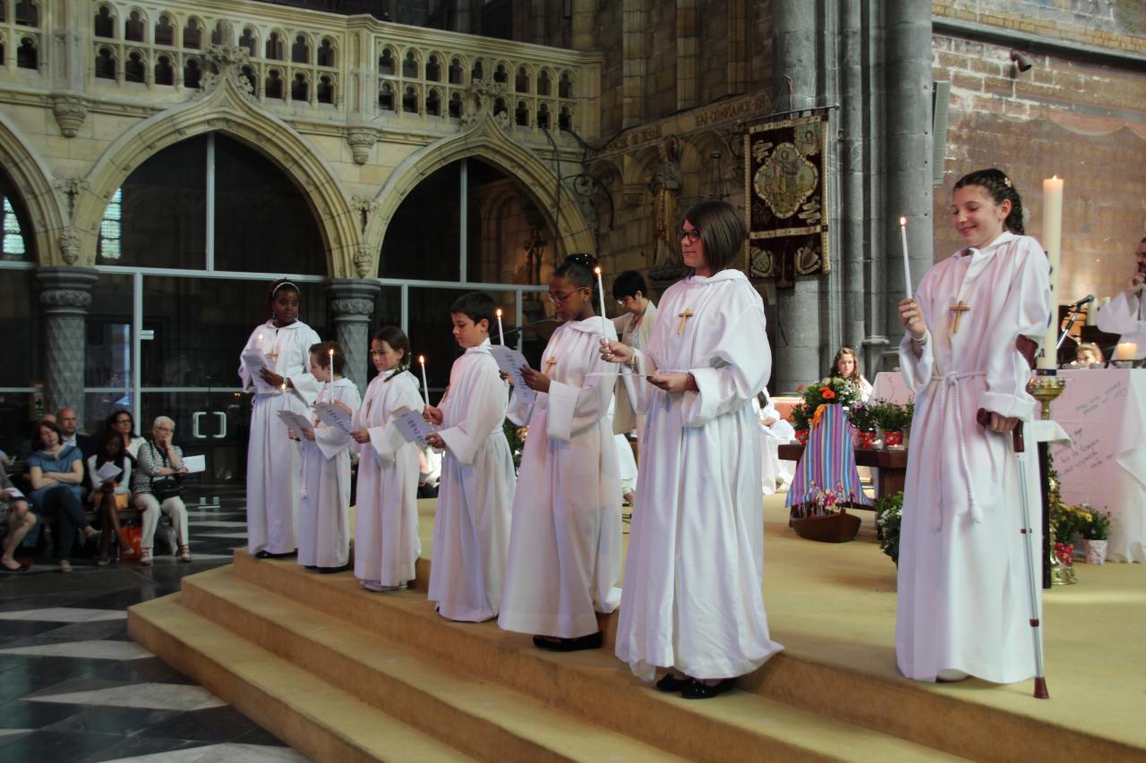 Profession de foi: l'équipe de Marie-Paule
