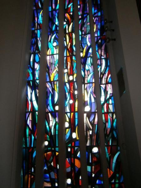 Eglise Ste-Julienne, vitraux du choeur
