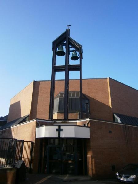 Eglise Ste-Marguerite, entrée