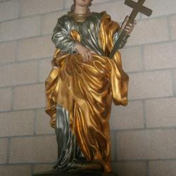 Eglise Ste-Marguerite, statue de la sainte patronne