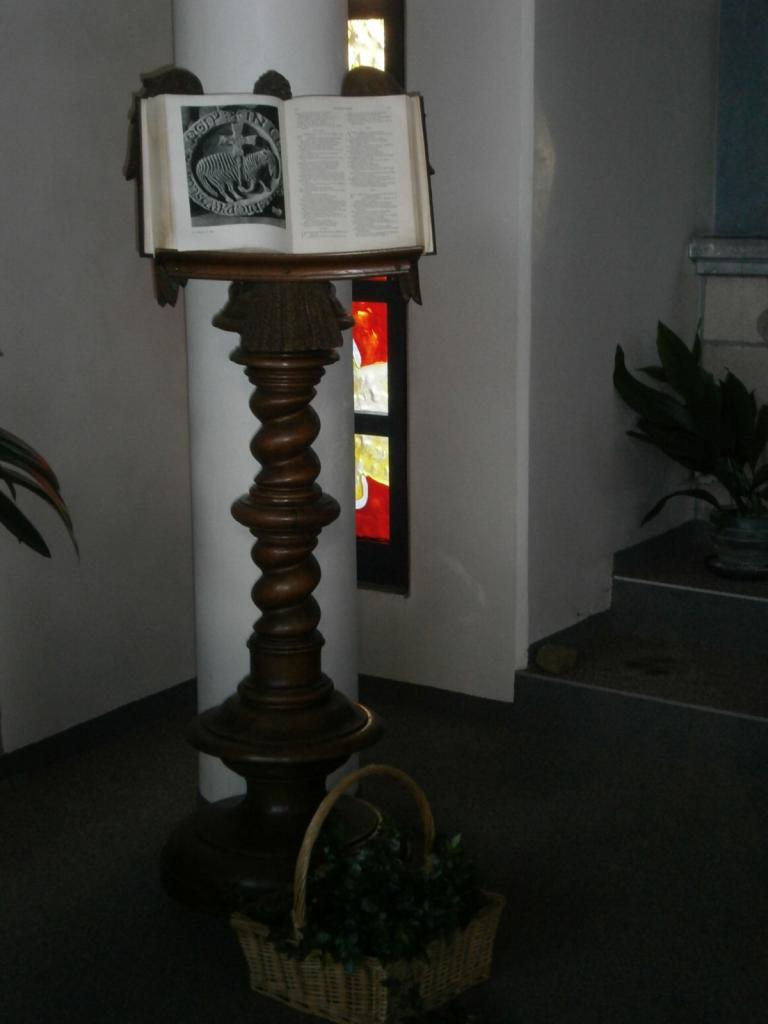 Eglise Ste-Marguerite, lutrin