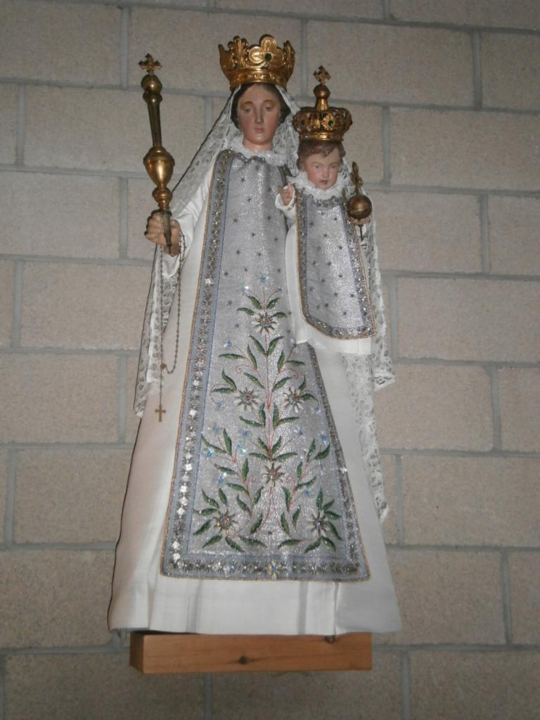Eglise Ste-Marguerite, Vierge à l'Enfant