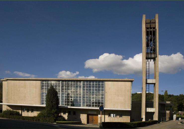 Eglise Ste-Julienne - vue extérieure