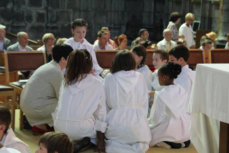 Prière d'action de grâce par l'équipe de Marie-Paule