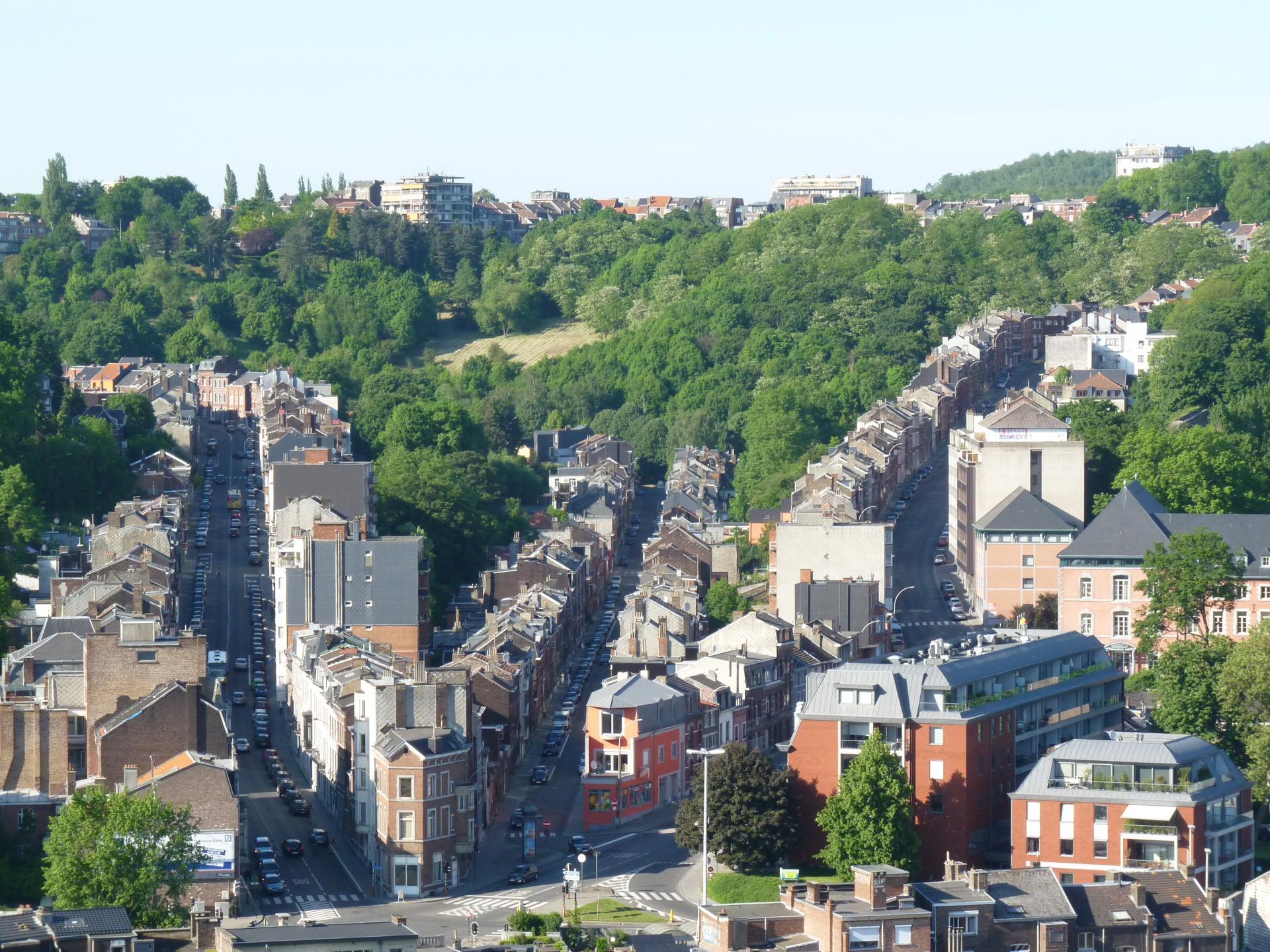 Rues de Campine, Fond Pirette et Montagne Ste-Walburge